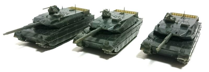 ピットロード 1/144 陸上自衛隊 10式戦車 レビュー