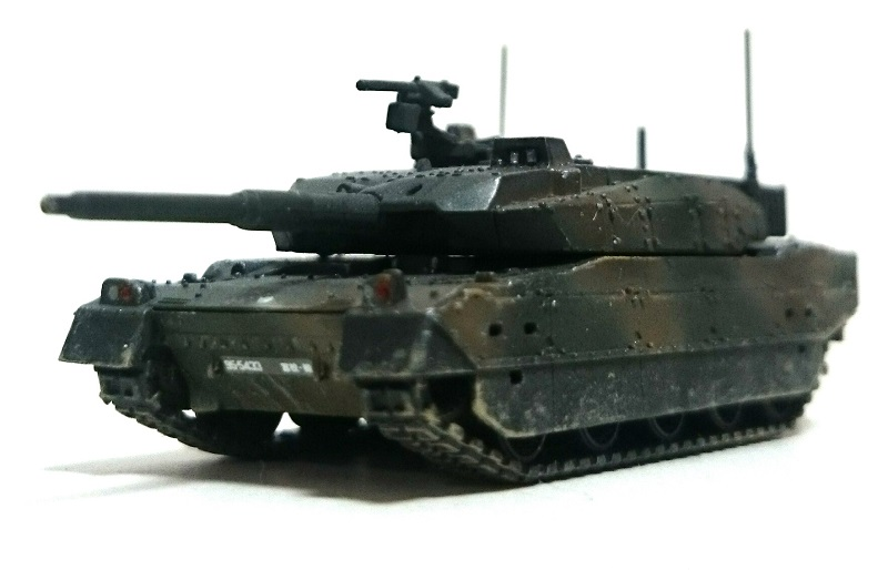 ピットロード 10式戦車完成(塗装改修済み)