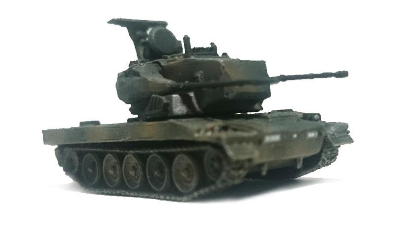 87式自走高射機関砲 完成(塗装改修済み)