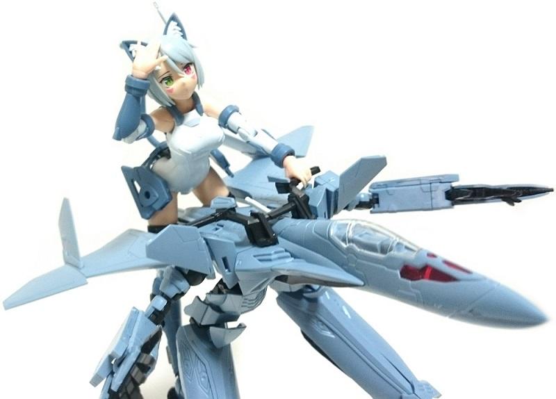 アオシマ V.F.G. マクロスΔ VF-31A カイロス レビュー