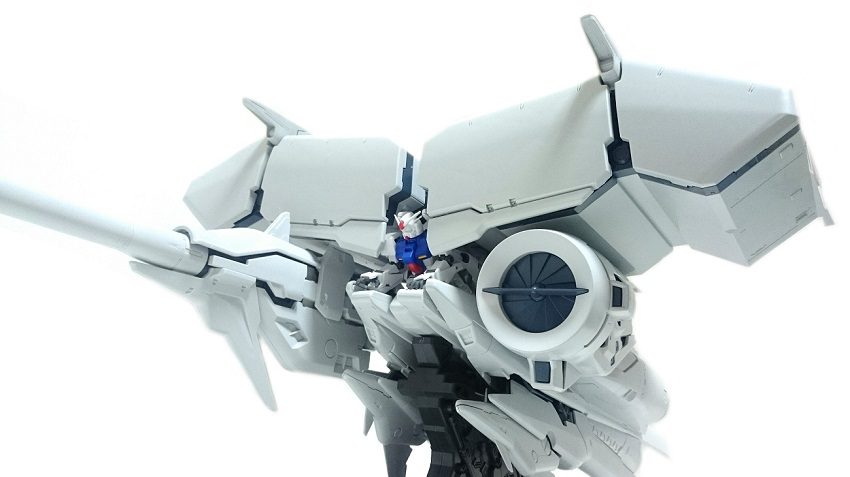 バンダイ HGUC  ガンダム試作3号機  デンドロビウム レビュー