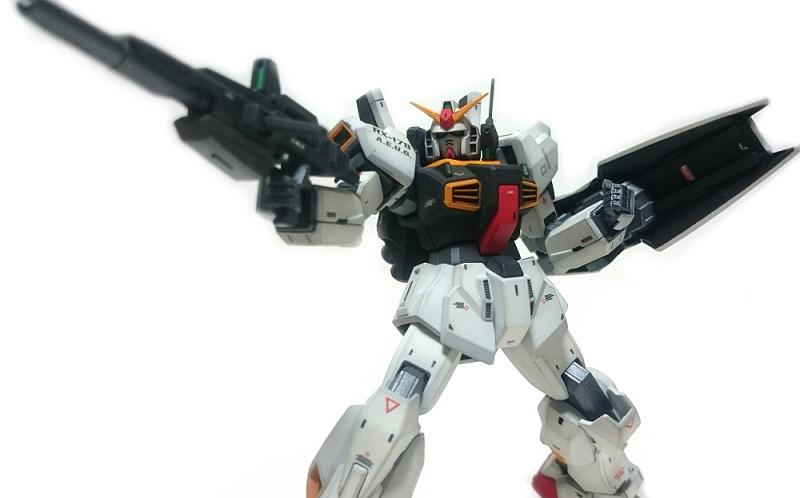 HGUC ガンダムMK-Ⅱ完成(塗装改修済み)