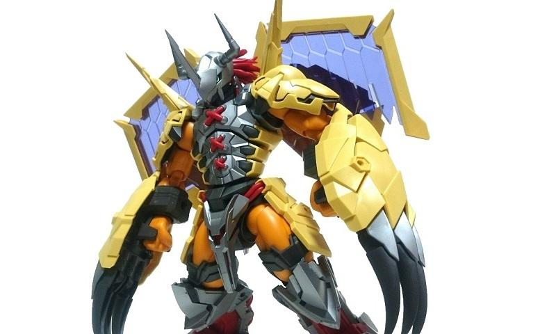 バンダイ Figure-rise Standard ウォーグレイモン(AMPLIFIED) レビュー