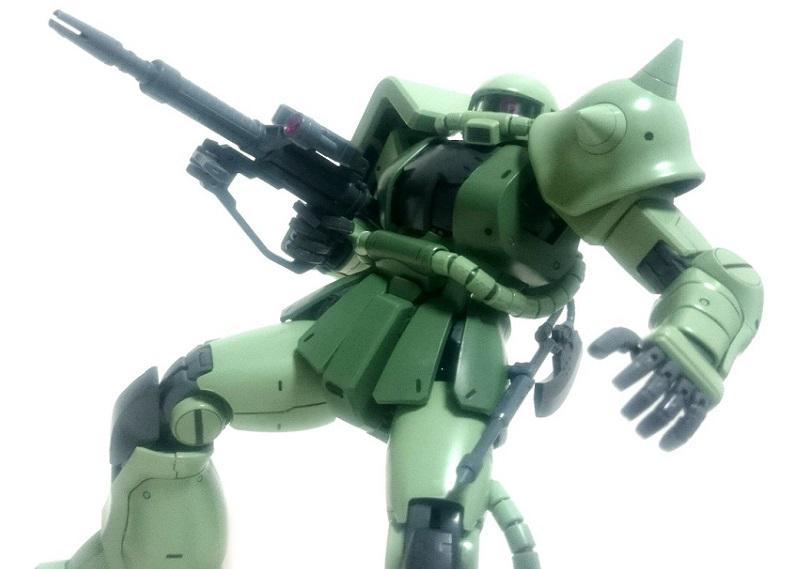 バンダイ MG MS-06J  ザクⅡ Ver2.0 レビュー