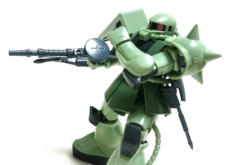 """<span class=""""title"""">バンダイ HGUC 量産型ザクⅡ レビュー</span>"""