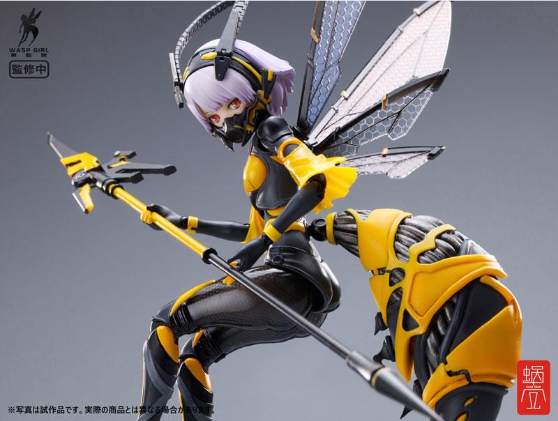 "<span class=""title"">BEE-03W WASP GIRL ブンちゃん 1/12 完成品アクションフィギュアご紹介</span>"